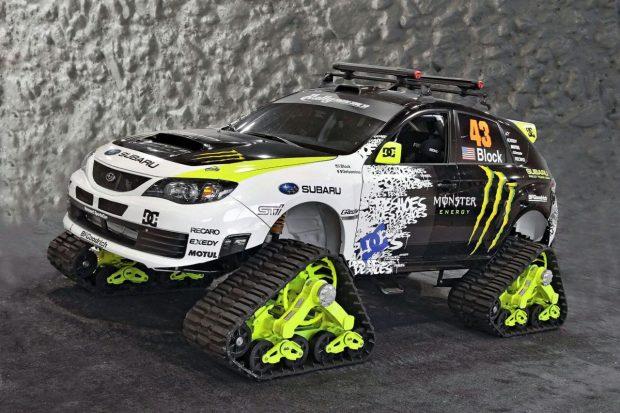 Ken Block's TRAX STI Car