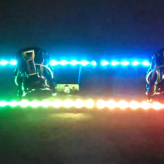 Lichtgevend Snowboard
