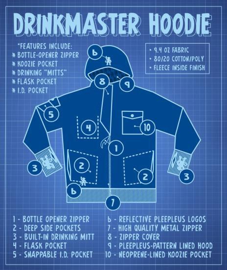 Drinkmaster Hoodie