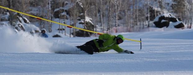 Russisch Extreme Slalom