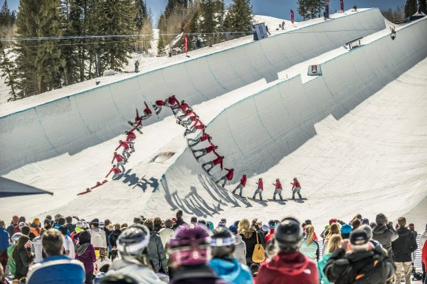 Red Bull Double Pipe