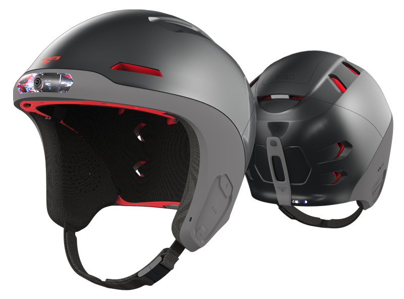 Forcite Alpine Smart Helmet Skihelm Met Actioncam Amp Meer