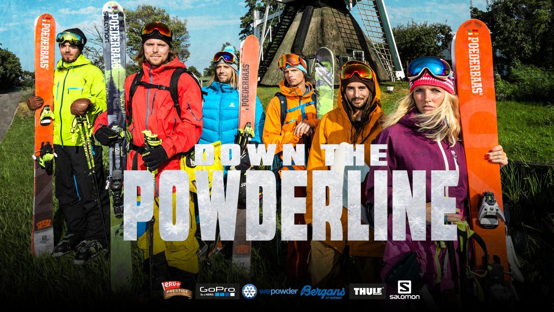 Down the Powderline