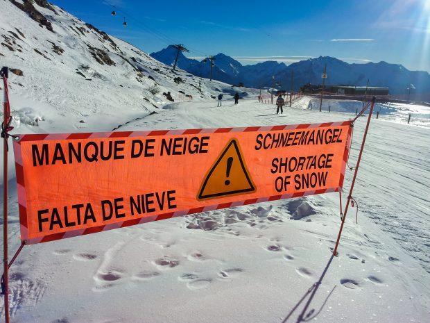 Ski ongeluk