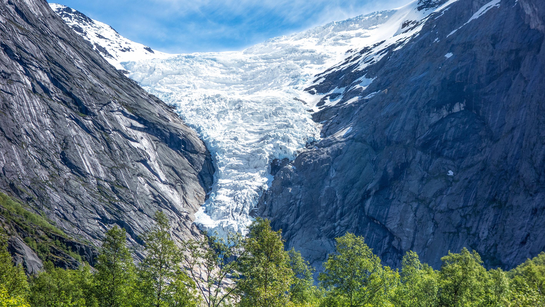 Hete Zomer Van 2015 Liet Gletsjers Dubbel Zo Hard Smelten