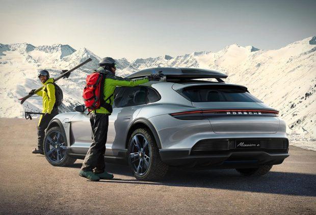 Porsche Mission E Cross Tourismo