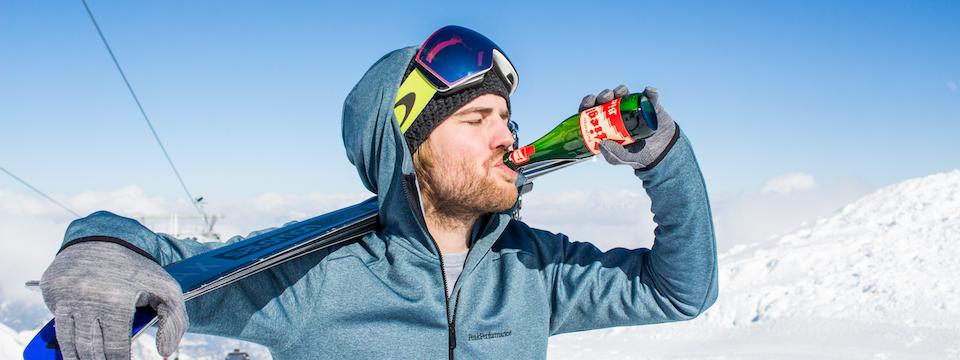 Robert gaat de challenge aan: een wintersportseizoen lang alcoholvrij