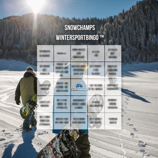 Wintersportbingo